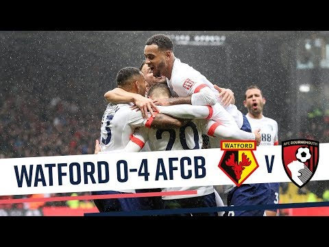 KING AT THE DOUBLE! 👑 | Watford 0-4 AFC Bournemouth