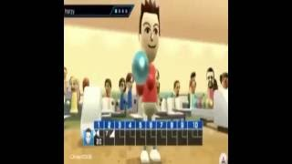 Moaning bowling wii sports