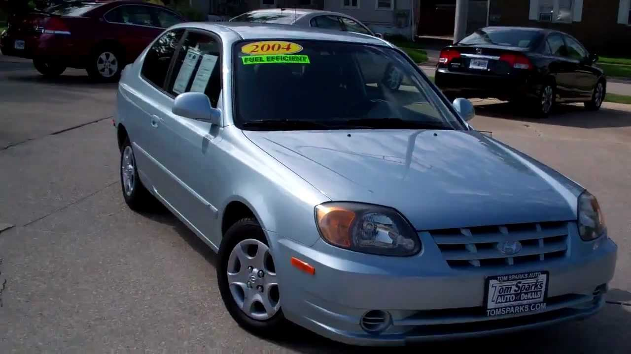Hyundai Accent Hatchback >> 2004 Hyundai Accent 2dr hatchback only 43000 miles Dekalb IL near Rochelle IL. - YouTube
