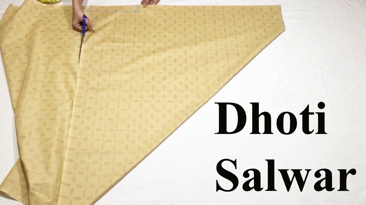 Download Dhoti Salwars cutting and stitching