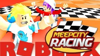 CHAUDREY KART! 🥈 ROBLOX MEEP CITY RACING