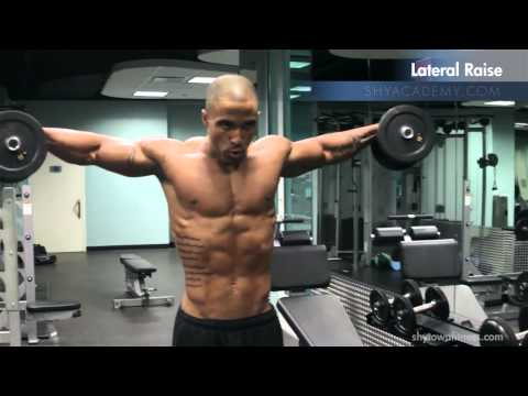 SHOULDERS - DB Lateral Raise