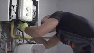 Montaż kotła kondensacyjnego Chaffoteaux Talia Green Evo - film instruktażowy