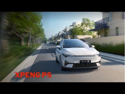 XPENG P5 - elektrische Mittelklasse Limousine mit smarten Features