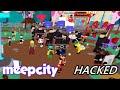 MeepCity is hacked. Love, the Tubers.