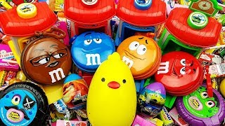 ABC Song - Five Little Ducks Nursery Rhymes - Colors Song Surprise Eggs & A lot of Candy