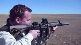 "LMT 10.5"" AR-15, AAC M4-2000 Suppressor"