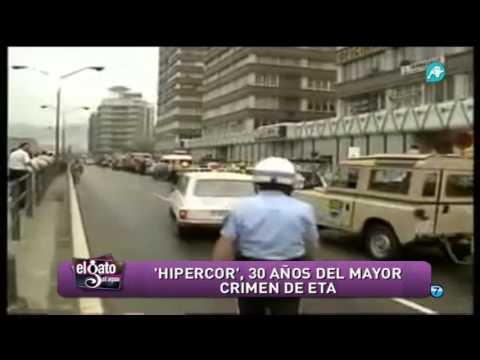 La llamada de ETA avisando del atentado en Hipercor