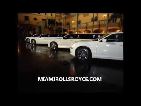 Miami Rolls Royce Limos