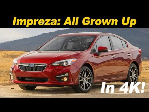 2018 Subaru Impreza Review and Road Test in 4K UHD!