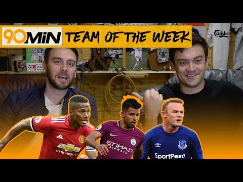 Aguero hattrick vs Watford and Lukaku goal vs Everton, Is the Title going to Manchester? 90min TOTW