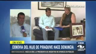 """""""Dijo que yo era el diablo"""": exnovia de hijo de María Luisa Piraquive - 14 de Enero del 2013"""