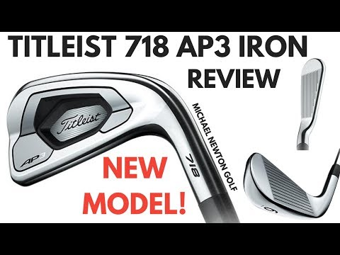 Titleist 718 AP3 Iron Review - New Model For Titleist - YouTube