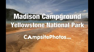 Madison Campground, Yellowstone National Park, Wyoming