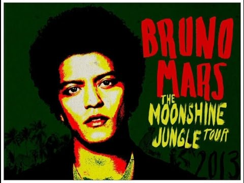 Bruno Mars - The Moonshine Jungle Live Concert (Zurich, Switzerland)