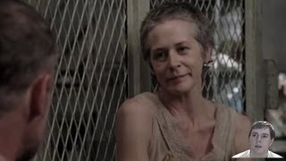 The Walking Dead Season 3 Deleted Scene - Carol Threatens Merle! - My Thoughts