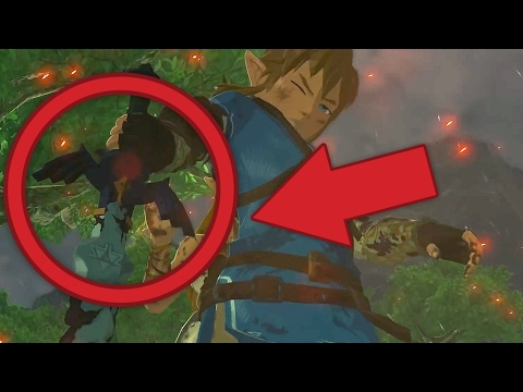 Zelda: Breath of the Wild Release Trailer - Easter Eggs, Secrets and Gameplay Analysis