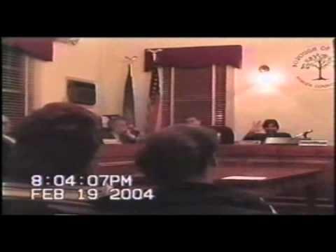 Lonegan's Bogota Borough Attorney Waves at the Camera