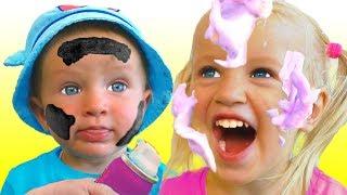 Моем машинку - Детская песня | Песни для детей от Кати и Димы