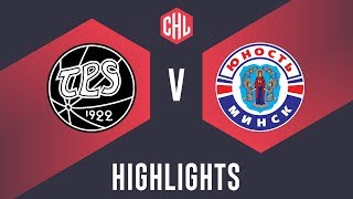 Highlights: TPS Turku vs. Yunost Minsk