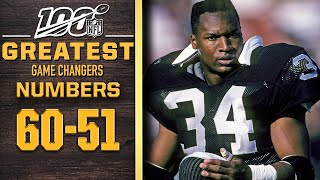 100 Greatest Game Changers: Numbers 60-51 | NFL 100