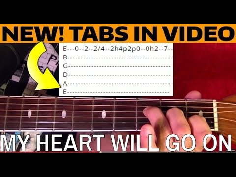 My Heart Will Go On ( Titanic Theme ) - Guitar Lesson WITH TABS!