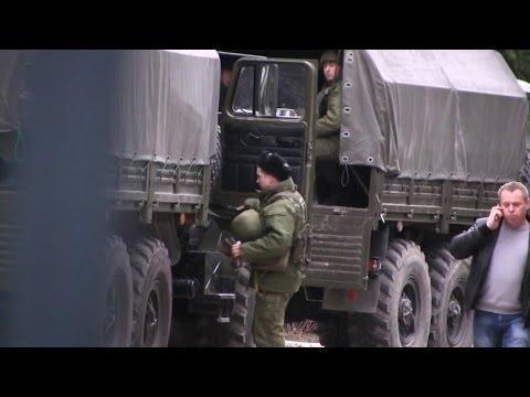 Российские военные приехали