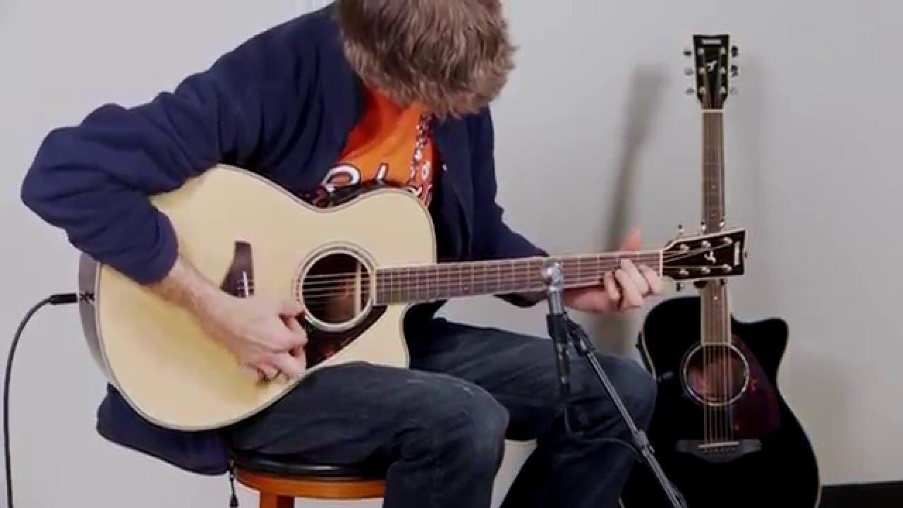 d3c899b215 Yamaha FSX730SC Acoustic Electric Guitar Performance - YouTube