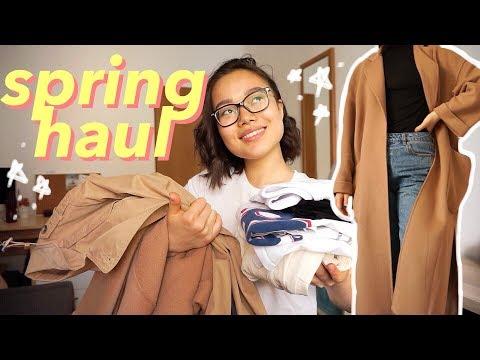 HAUL   Покупки одежды 2019   Что я ношу весной?