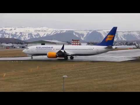 Icelandair B737 MAX 8 BIRK 14.04.18