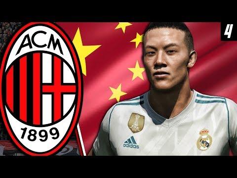 WU LEI...THE CHINESE RONALDO!!! | FIFA 18: AC Milan Career Mode (Super League) - E4