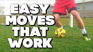 20 Soccer Moves Tricks And Skills To Beat A Defender - Messi Skills, Ronaldo Skills, Neymar Skills