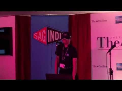 Charlie doing Karaoke Cannes 2015