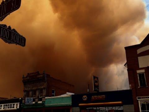 Raw: Utah Wildfire Burns 17 Square Miles
