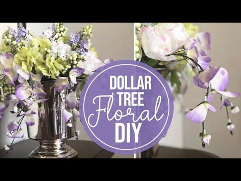 DOLLAR TREE FLORAL DIY
