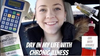 DAY IN MY LIFE with Ehlers Danlos Syndrome, a Feeding tube, and Homeschool