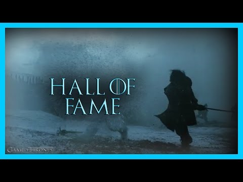GAME OF THRONES - Hall of Fame [Music Video]