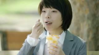 練乳いちごカフェ篇(臼田あさ美)、ハロハロ冷凍みかん篇(岸井ゆきの...