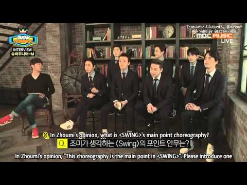 [ENG SUB] 140409 #SuperJuniorM Interview Cut #Swing #SJM