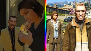 Every GTA 4 Character That Appears In GTA 5! (REDUX)