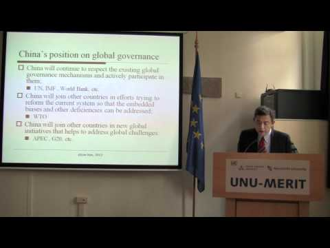 Global governance system - A Chinese perspective: Xue Lan