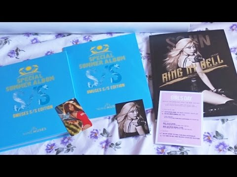 [Unboxing] Girl's Day 걸스데이 - In Love, Sojin ver. | Nine Muses 나인뮤지스 - S/S