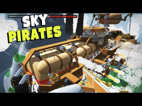 Sky Pirates!  BOARDING Enemy Airships! (Airmen Alpha Gameplay)