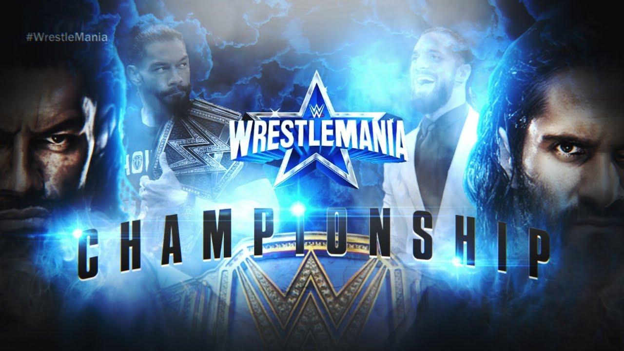 Download COMO HACER UN CUSTOM MATCH CARD DE WWE WRESTLEMANIA 38 | WWE WRESTLEMANIA 38 OFFICIAL MATCH CARD