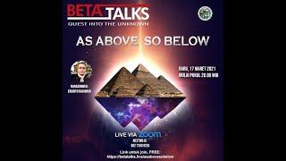 As Above So Below   Erianto Rachman   Beta Talks