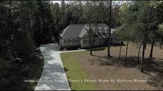 Halcyon Homes Sunset Grove Parade Home 2020