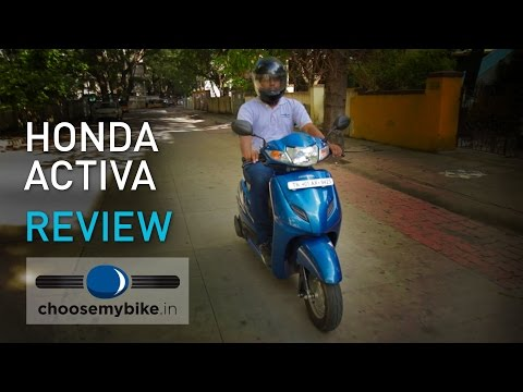 2015 Honda Activa 3G : ChooseMyBike.in Review