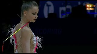 2019 European Rhythmic Gymnastics Championships Baku - Clubs + Ribbon Final