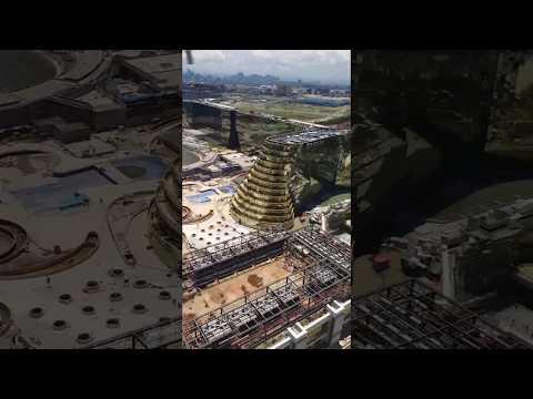 Manila Hellicopter View: Okada Philippines Construction Site
