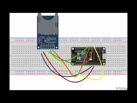 Sd Card Webserver Using Esp8266 Nodemcu